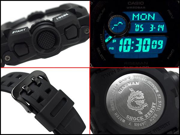 """""""凱西歐 gshock 凱西歐手錶 G-9200BW-1 博士 g-休克"""