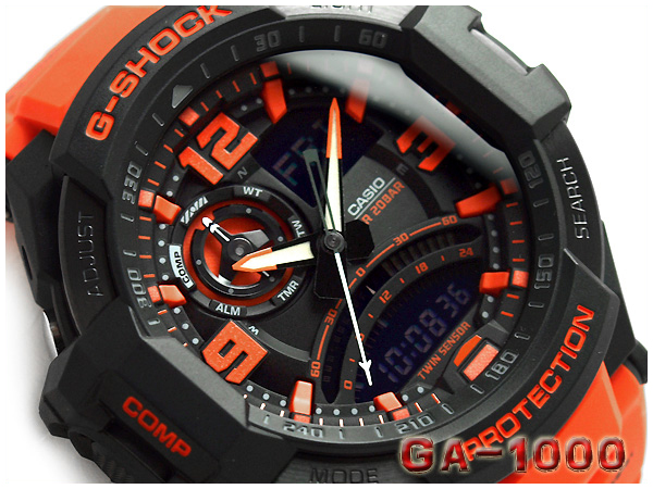 Ga 1000 4adr G Shock G ショックジーショック Gshock Casio Casio Watch Ga 1000 4a