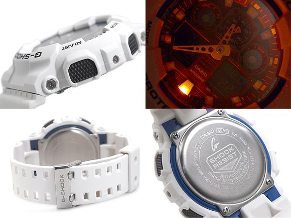 """+ CASIO Casio G shock """"an analog-digital watch black blue white GA-100B-7ADR GA-100B-7"""
