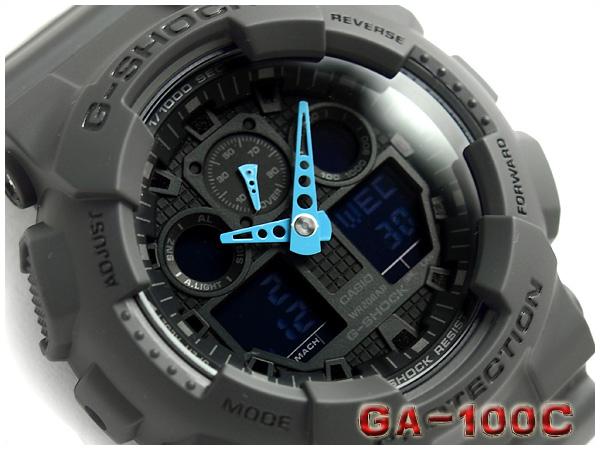 GA-100C-8ADR G-SHOCK Gショック ジーショック gshock カシオ CASIO 腕時計 GA-100C-8A