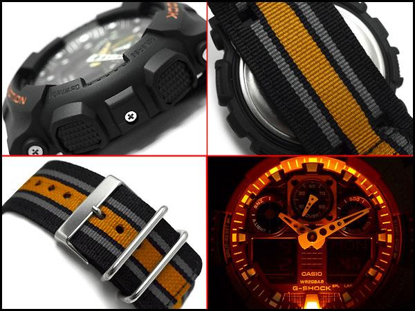 """遺傳演算法-100MC-1,A4JF""""凱西歐凱西歐 g-休克 gshock 手錶"""