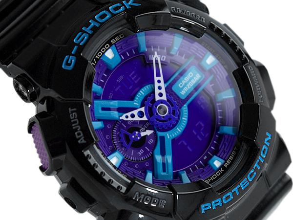 7df22f86ca4c0 G-SUPPLY  G shock 6600 g-shock CASIO Casio ハイパーカラーズ an analog-digital watch  blue purple black GA-110 GA-110HC-1ADR HC-1