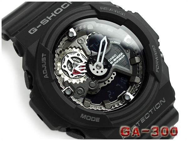 ff2787f801e7 G-SUPPLY: + Casio G shock overseas imports models chronograph series is an  analog-digital men's Watch Black GA-300-1ADR | Rakuten Global Market