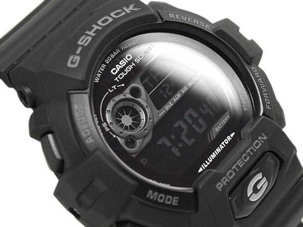 """CASIO Casio g-shock G shock """"solar digital watch-all black GR-8900A-1DR"""