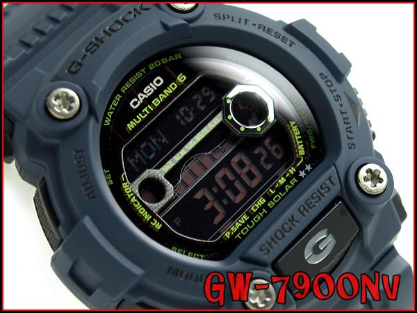 """G GW-7900NV-2JF g-休克""""凱西歐 gshock 凱西歐手錶"""