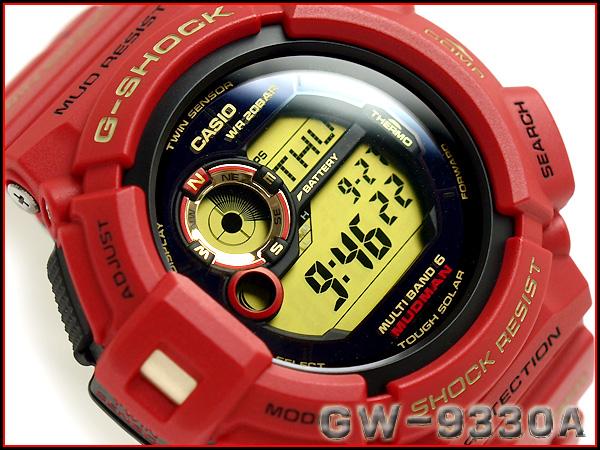 """G GW-9330A-4JR g-休克""""凱西歐 gshock 凱西歐手錶"""