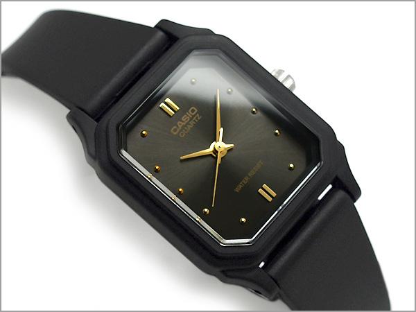 Reimportation foreign countries model standard analog lady's watch black urethane belt LQ-142E-1ADF