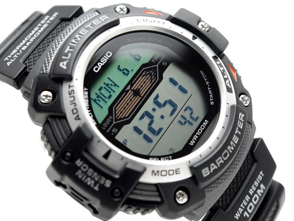 CASIO Casio OUTGEAR out gear overseas model digital watch urethane belt SGW-300H-1AVDR SGW-300H-1A