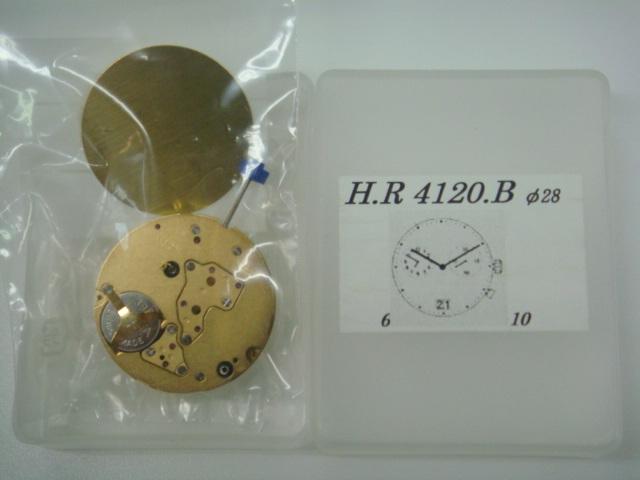 【RONDA(ロンダ)】ムーブメント4120B 2針多軸