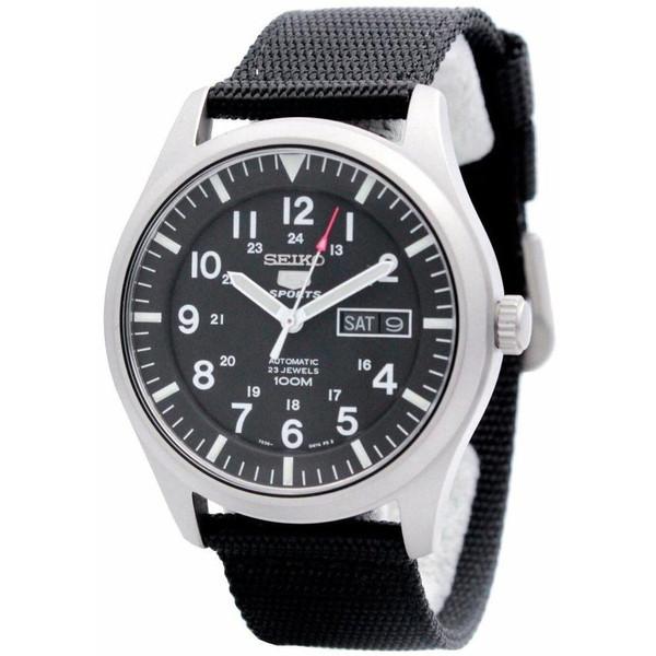 [セイコー]SEIKO 腕時計 5 MILITARY AUTOMATIC ミリタリー オートマチック SNZG15K1 メンズ [並行輸入]