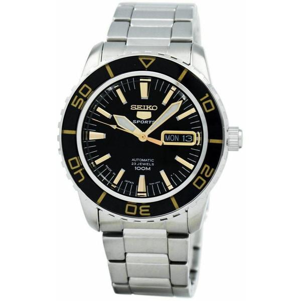 [セイコー]SEIKO 腕時計 5 AUTOMATIC SPORTS オートマチック スポーツ SNZH57J1 メンズ [並行輸入]