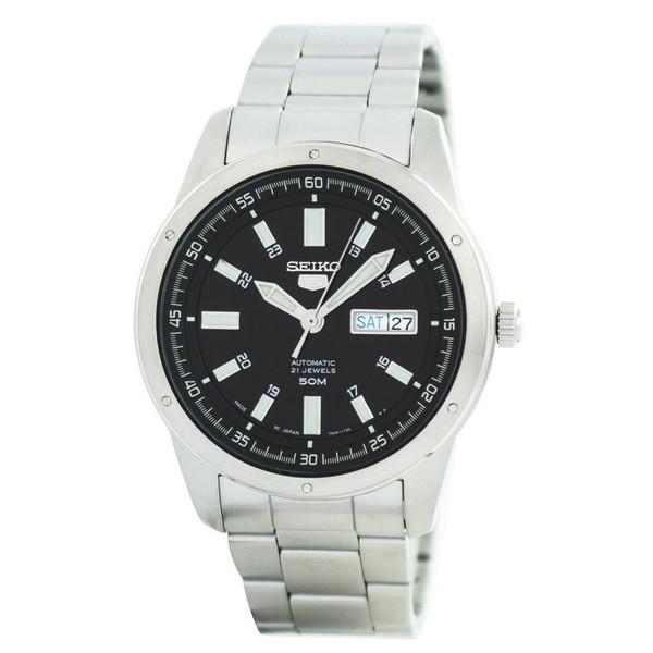 超激安 海外モデル リーズナブルな価格帯の機械式腕時計の入門として最適 1年保証 セイコー SEIKO 腕時計 並行輸入 オートマチック AUTOMATIC 新作からSALEアイテム等お得な商品 満載 5 メンズ SNKN13J1