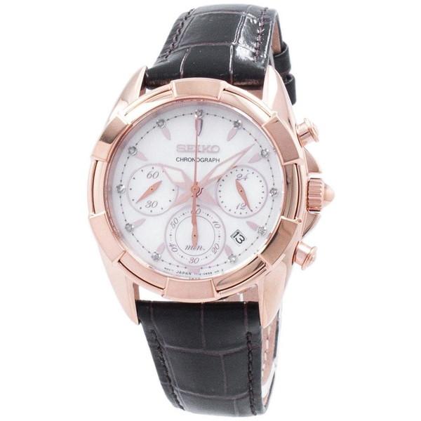 [セイコー]SEIKO 腕時計 QUARTZ CHRONOGRAPH クオーツ クロノグラフ SRW784P1 レディース [並行輸入]