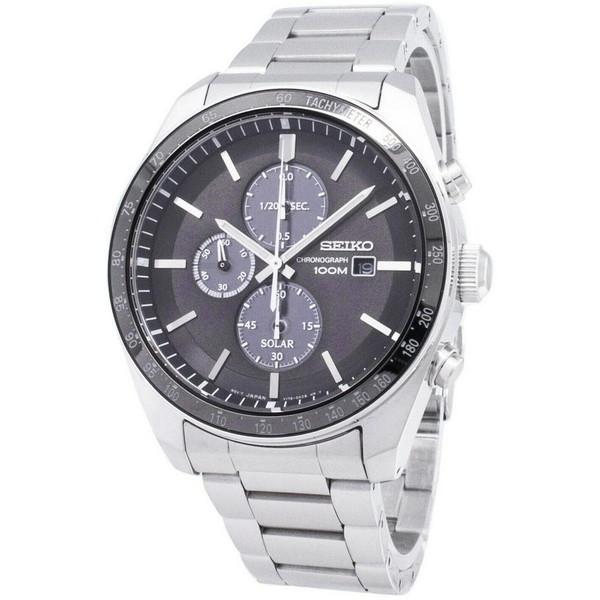 [セイコー]SEIKO 腕時計 SOLAR CHRONOGRAPH ソーラー クロノグラフ SSC715P1 メンズ [並行輸入]