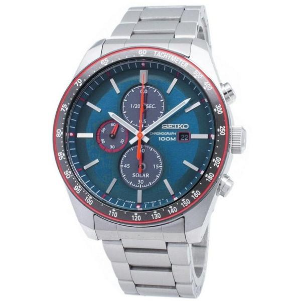 [セイコー]SEIKO 腕時計 SOLAR CHRONOGRAPH ソーラー クロノグラフ SSC717P1 メンズ [並行輸入]