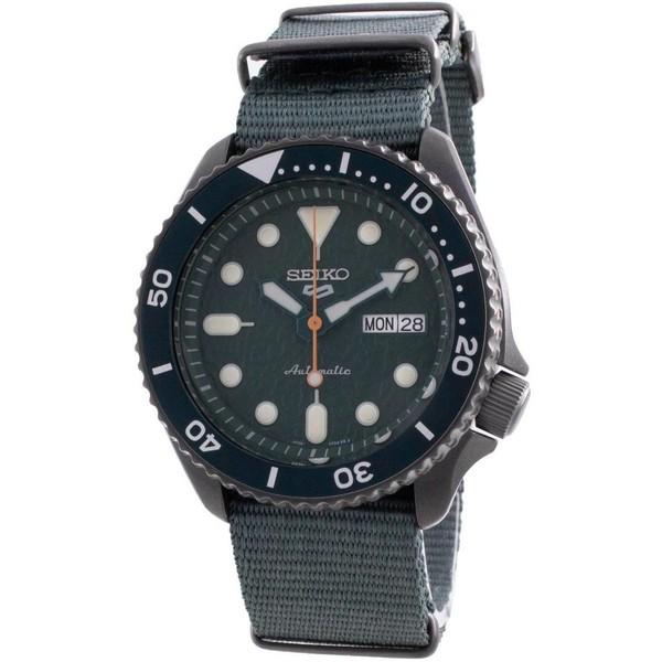 海外モデル 海外でも人気の高いセイコー 5スポーツ 1年保証 セイコー SEIKO 腕時計 5 AUTOMATIC 人気の定番 送料無料/新品 並行輸入 SRPD77K1 メンズ スポーツ SPORTS オートマチック