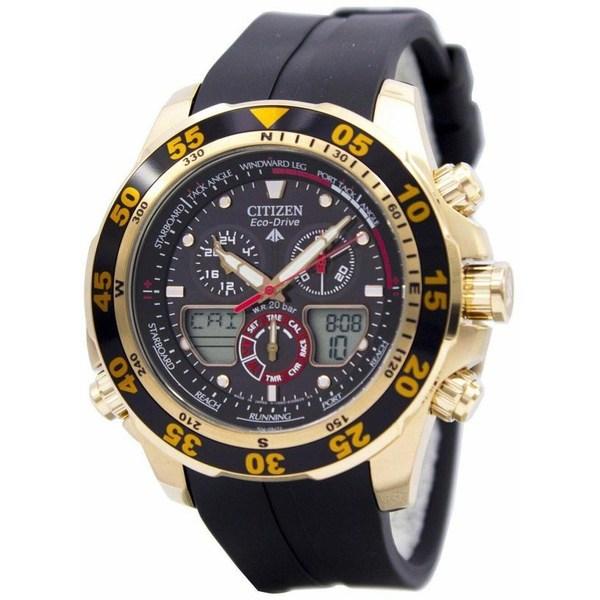[シチズン]CITIZEN 腕時計 ECO-DRIVE PROMASTER CHRONOGRAPH エコドライブ プロマスター クロノグラフ JR4046-03E メンズ [並行輸入]