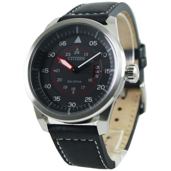 [シチズン]CITIZEN 腕時計 ECO-DRIVE AVIATOR POWER RESERVE エコドライブ アビエイター AW1360-04E メンズ [並行輸入]