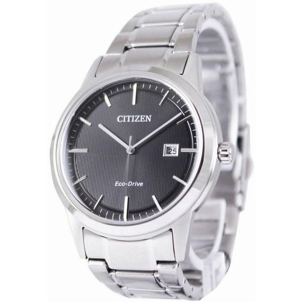 [シチズン]CITIZEN 腕時計 ECO-DRIVE BLACK DIAL エコドライブ ブラックダイアル AW1231-58E メンズ [並行輸入]