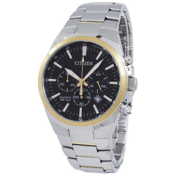 [シチズン]CITIZEN 腕時計 CHRONOGRAPH QUARTZ クロノグラフ クオーツ AN8174-58E メンズ [並行輸入]