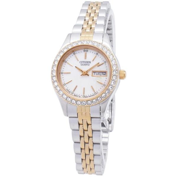 [シチズン]CITIZEN 腕時計 QUARTZ クオーツ EQ0534-50D レディース [並行輸入]