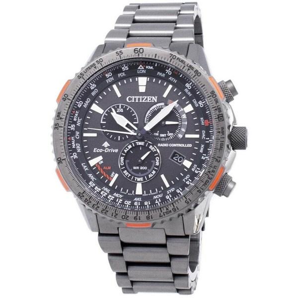 [シチズン]CITIZEN 腕時計 PROMASTER ECO-DRIVE RADIO CONTROLLED プロマスター エコドライブ 電波時計 CB5007-51H メンズ [並行輸入]