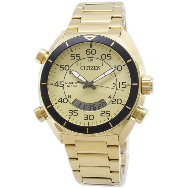 [シチズン]CITIZEN 腕時計 QUARTZ CHRONOGRAPH クオーツ クロノグラフ アナデジ JM5472-52P メンズ [並行輸入]
