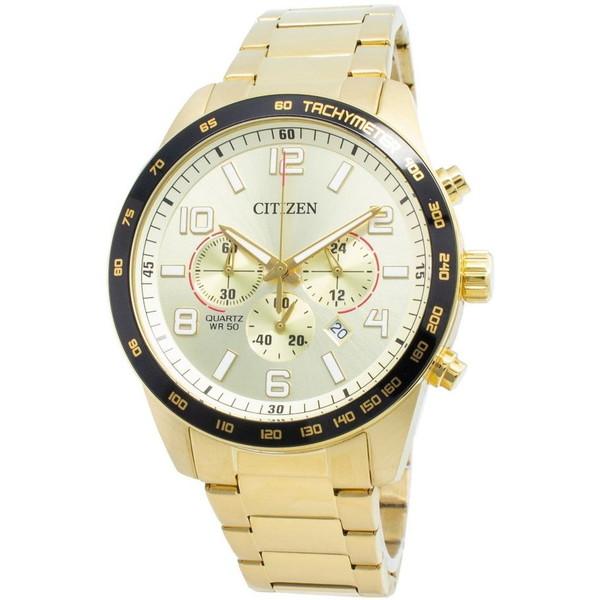 [シチズン]CITIZEN 腕時計 QUARTZ CHRONOGRAPH クオーツ クロノグラフ AN8163-54P メンズ [並行輸入]