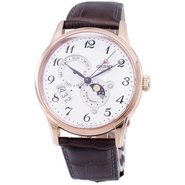 [オリエント]ORIENT 腕時計 SUN & MOON AUTOMATIC オートマチック サン&ムーン RA-AK0001S00B メンズ [並行輸入]