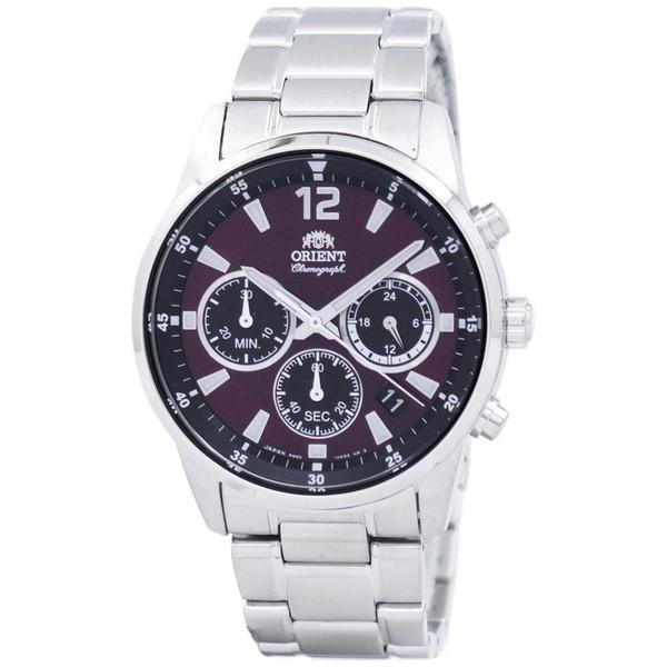 [オリエント]ORIENT 腕時計 SPORTS CHRONOGRAPH QUARTZ スポーツ クロノグラフ クオーツ RA-KV0004R00C メンズ [並行輸入]