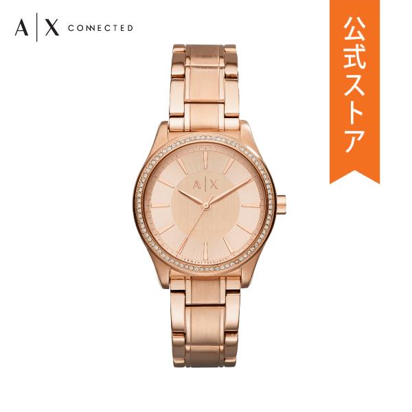 『ショッパープレゼント』30%OFF アルマーニ エクスチェンジ 腕時計 公式 2年 保証 ARMANI EXCHANGE レディース AX5442 NICOLETTE
