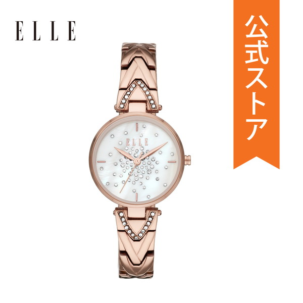 【20%OFFクーポン配布中】2019 冬の新作 エル 腕時計 レディース ELLE 時計 ELL21043 GRAND PALAIS 公式 2年 保証