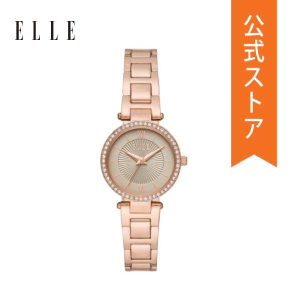 公式ショッパープレゼント 正規品 送料無料 開催中 20%OFFクーポン 配布中 エル 腕時計 レディース 公式 保証 ELL25014 爆買い送料無料 2年 時計 ELLE MUETTE