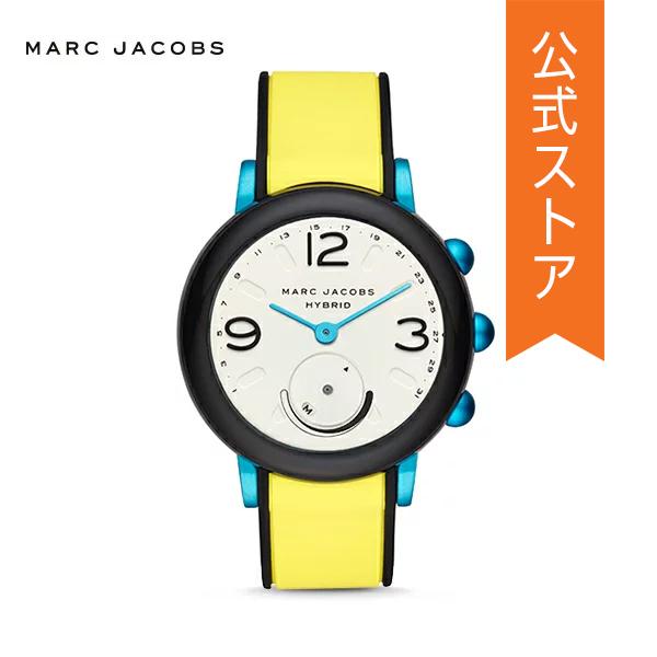 『ショッパープレゼント』30%OFF マーク ジェイコブス ハイブリッド スマートウォッチ 公式 2年 保証 MARC JACOBS iphone android 対応 ウェアラブル Smartwatch 腕時計 レディース ライリー MJT1007 RILEY