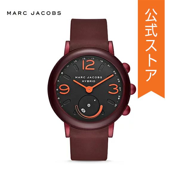 『ショッパープレゼント』マーク ジェイコブス ハイブリッド スマートウォッチ 公式 2年 保証 MARC JACOBS iphone android 対応 ウェアラブル Smartwatch 腕時計 レディース ライリー MJT1010 RILEY
