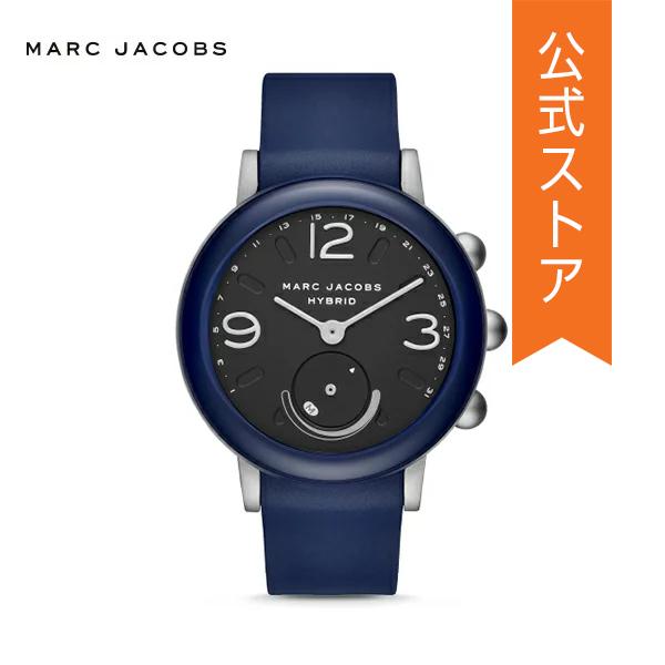 『ショッパープレゼント』マーク ジェイコブス ハイブリッド スマートウォッチ 公式 2年 保証 MARC JACOBS iphone android 対応 ウェアラブル Smartwatch 腕時計 レディース ライリー MJT1013 RILEY