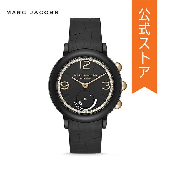 『ショッパープレゼント』2018 冬の新作 マーク ジェイコブス ハイブリッド スマートウォッチ 公式 2年 保証 MARC JACOBS iphone android 対応 ウェアラブル Smartwatch 腕時計 レディース ライリー MJT1014 RILEY
