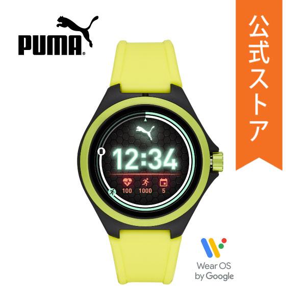 【40%OFF】2019 冬の新作 プーマ スマートウォッチ タッチスクリーン レディース メンズ PUMA 腕時計 PT9101 SMARTWATCH 公式 2年 保証