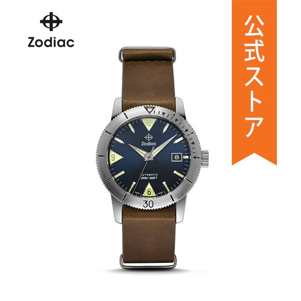 『公式ショッパープレゼント』30%OFF ゾディアック 腕時計 公式 2年 保証 Zodiac メンズ ZO9204 SUPER SEA WOLF 53 40mm