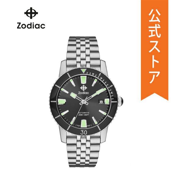 【7/26まで!ポイント10倍!】ゾディアック 腕時計 メンズ 自動巻き Zodiac 時計 スーパー シーウルフ ZO9250 SUPER SEAWOLF 53 COMPRESSION 40mm 公式 2年 保証