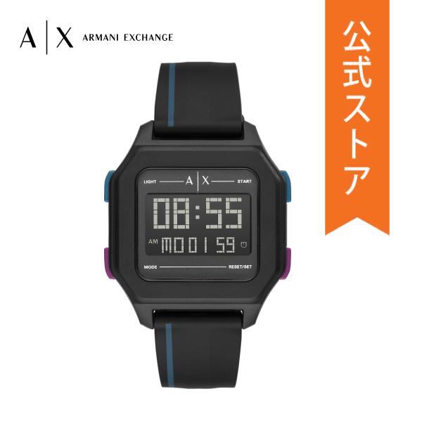 【7/26まで!ポイント10倍!】2020 春の新作 アルマーニ エクスチェンジ 腕時計 メンズ デジタル ARMANI EXCHANGE 時計 AX2955 Shell 公式 2年 保証