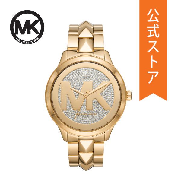 【7/26まで!ポイント10倍!】マイケルコース 腕時計 レディース MICHAEL KORS 時計 MK6714 RUNWAY MERCER 公式 2年 保証
