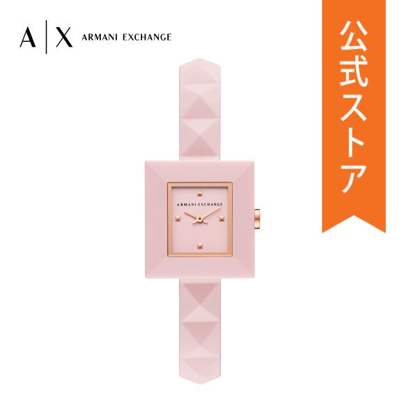 ショッパープレゼント 正規品 送料無料 2021 夏の新作 アルマーニ エクスチェンジ 腕時計 アナログ スーパーセール期間限定 ピンク ARMANI 即日出荷 時計 KARLA EXCHANGE 保証 AX4402 カーラ 2年 公式 レディース