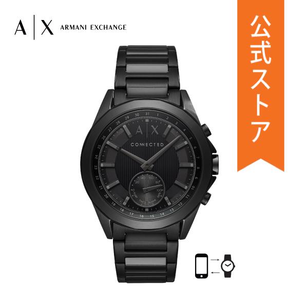 iPhone Android 対応 送料無料 マラソン期間限定 ポイント20倍 50%OFF アルマーニ エクスチェンジ お歳暮 スマートウォッチ ハイブリッド メーカー公式ショップ メンズ AXT1007 DREXLER 公式 ARMANI EXCHANGE ドレクスラー 保証 2年 腕時計