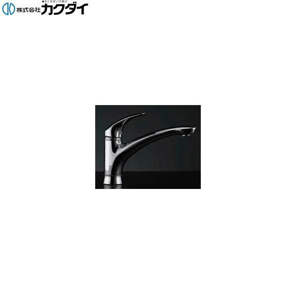 カクダイ[KAKUDAI]シングルレバー混合栓117-004K【送料無料】