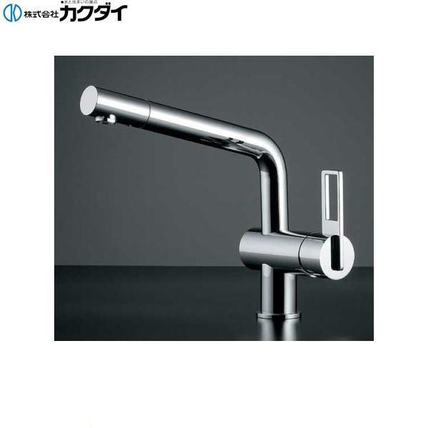 カクダイ[KAKUDAI]シングルレバー混合栓117-028【送料無料】