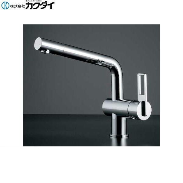 カクダイ[KAKUDAI]シングルレバー混合栓117-028K【送料無料】