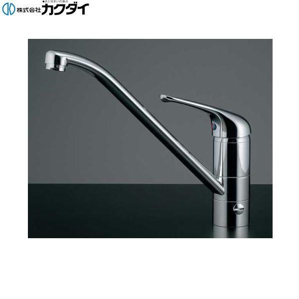 カクダイ[KAKUDAI]シングルレバー混合栓(分水孔つき)117-031K【送料無料】