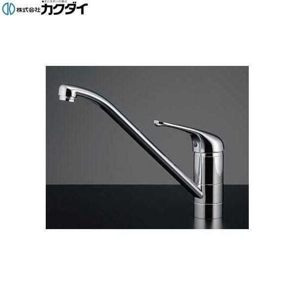 カクダイ[KAKUDAI]シングルレバー混合栓117-032K【送料無料】