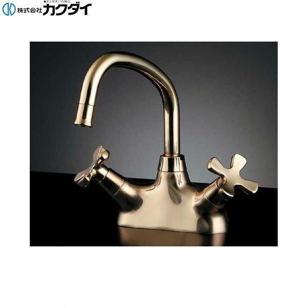 [151-201-CG]カクダイ[KAKUDAI]2ハンドル混合栓【送料無料】